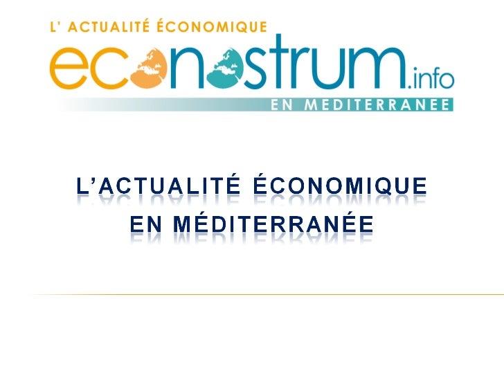 De Casablanca à Istanbul, du Caire à Alger, de Tunis à Marseille en passant   par Barcelone… Il suffit d'un clic sur Econo...