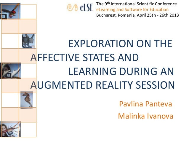 EXPLORATION ON THE AFFECTIVE STATES AND LEARNING DURING AN AUGMENTED REALITY SESSION