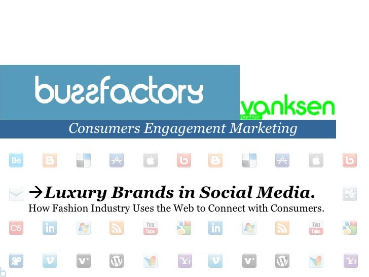 Presentation fashion industry & social media