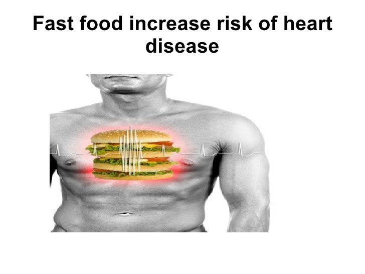 What are some causes and effects on eating junk food?