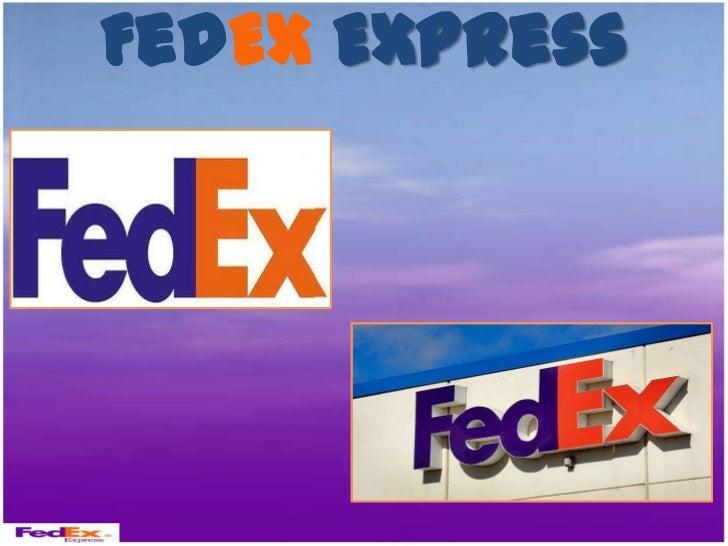 Presentation fed ex 1