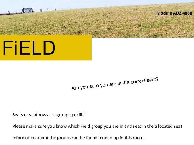 Field Briefing (Olivia Kotsifa) 2012