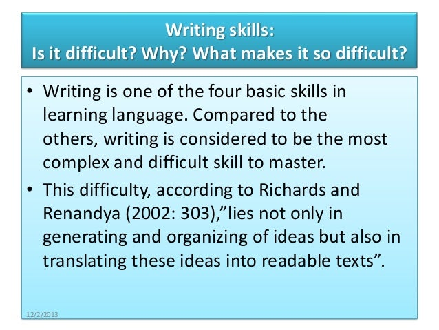 How to increase my writing skill level?
