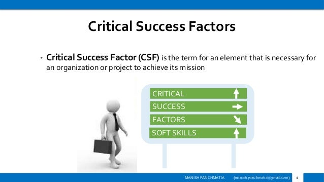 the key factors for a successful project The key factors for successful project implementation are not intended to be a complete list of factors that will have positive impacts on a project nor are they intended to be a silver bullet that, if implemented, will guarantee the success of a project.