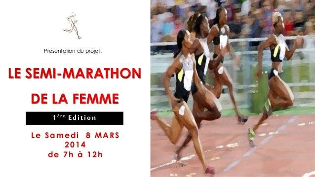 le semi-marathon de la FEMME
