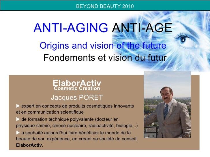 Presentation finale beyond beauty anti aging