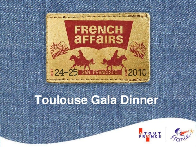 Toulouse Gala Dinner
