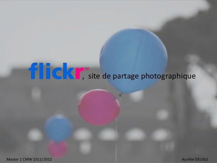 Flick, site de partage photographique