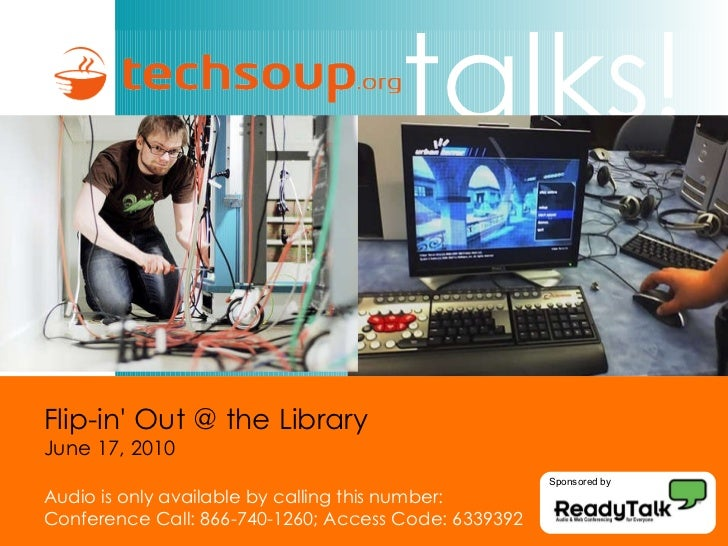 Presentation flip in' out @ the library