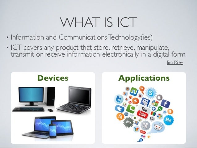 what is information in ict Information and communications technology (ict) has an important role in the world since we are now in the information age era with ict, the company can make the business easier to happen with the client, supplier and the distributor it is also very important in our daily lives.