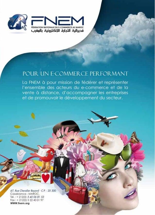 Présentation de la FNEM, Fédération Nationale du E-commerce du Maroc. 2014