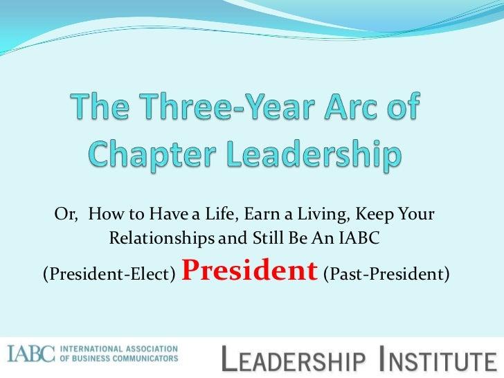 Presentation For 2012 Iabc Leadership Institute (Bp Final, 2 21 12)