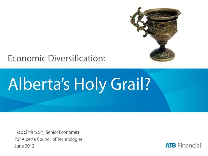 Questions to consider... •   Is Alberta's economy diversified? •   Why bother? •   Diversity by export market? •   Can div...