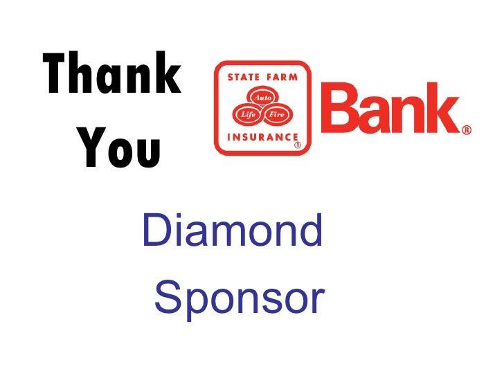Thank  You Diamond  Sponsor