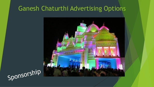 Indian Festival Branding Options Durga Puja Pandal Branding Ganesh