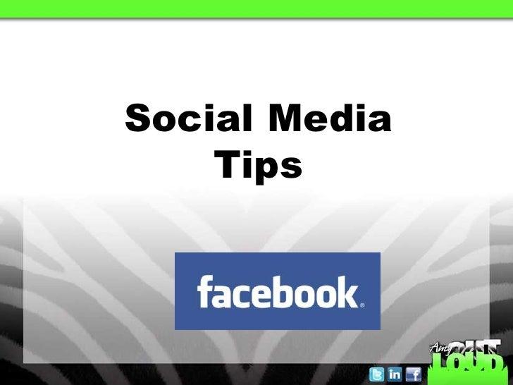 Social MediaTips<br />