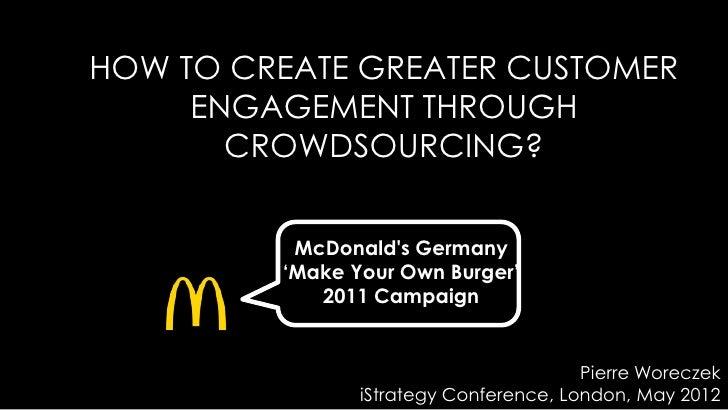 Pierre Woreczek (McDonald's) iStrategy London