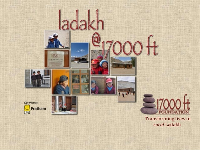 Transforming lives inrural Ladakh