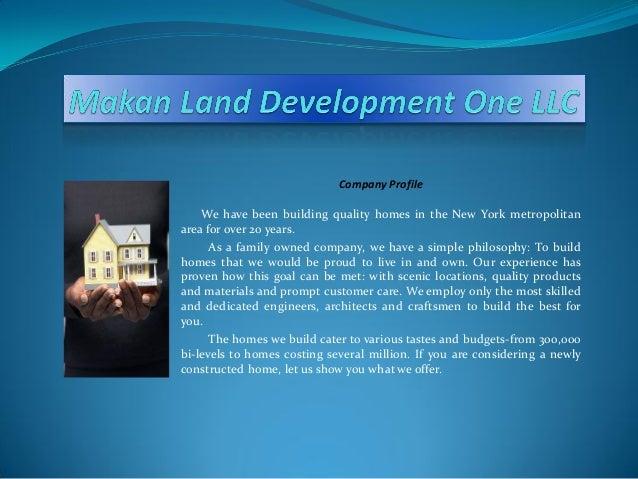 Presentation for Marketing & Sales
