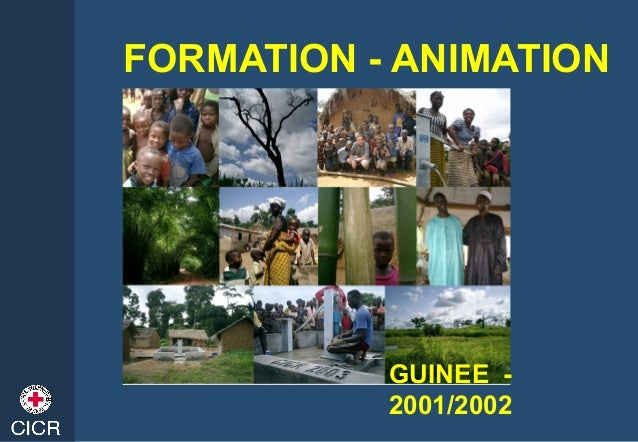FORMATION - ANIMATION GUINEE - 2001/2002