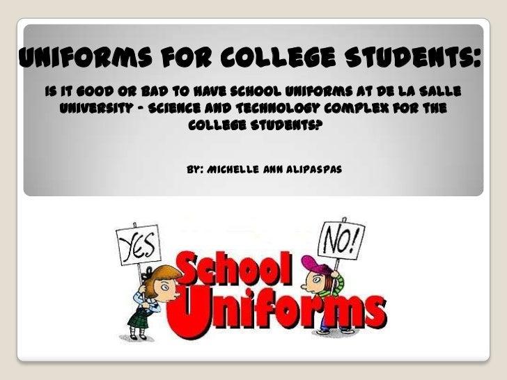 School Uniforms Persuasive Essay Example