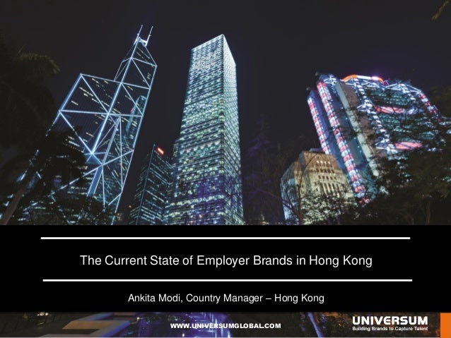 The Current State of Employer Brands in Hong Kong