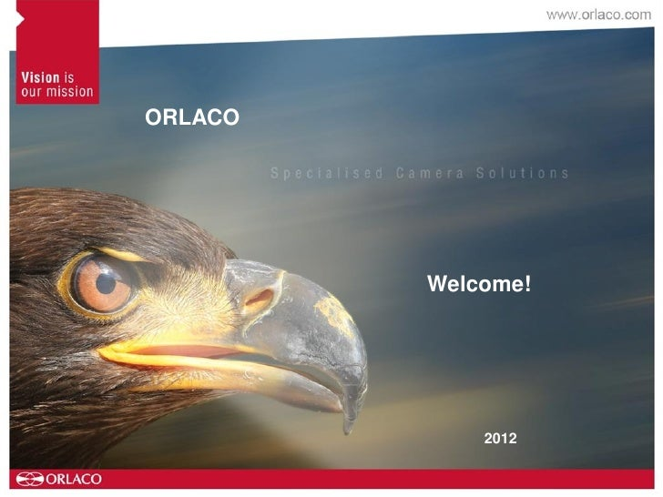 ORLACO         Welcome!             2012