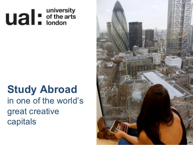 Study Abroadin one of the world'sgreat creativecapitals