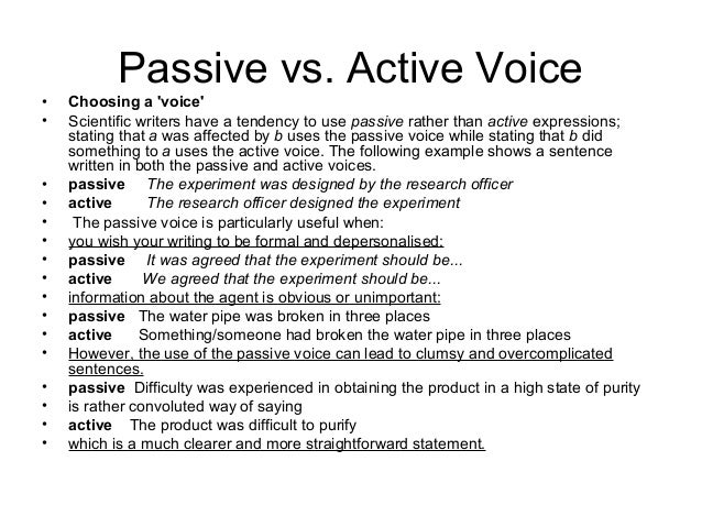 Academic voice in writing