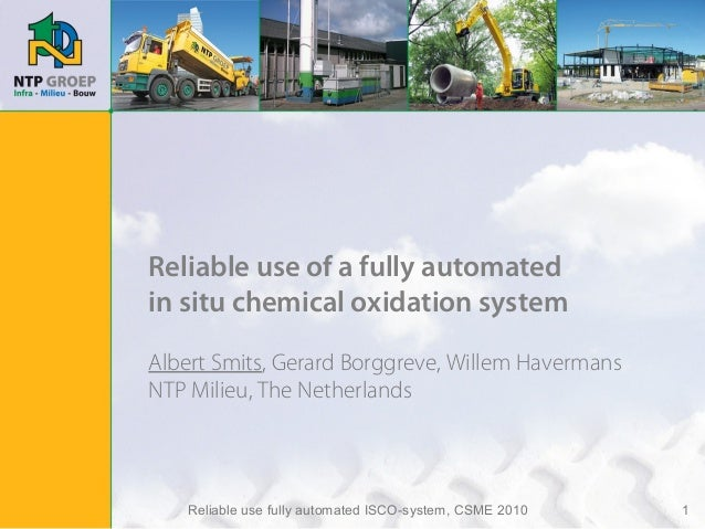 Presentation Fully Automated ISCO (CSME 20-10-2010)