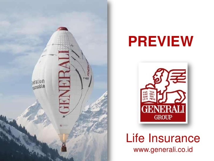 PREVIEWLife Insurance www.generali.co.id