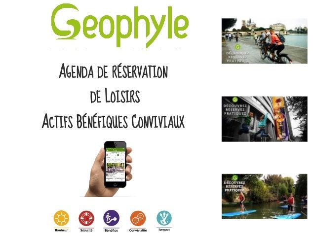 AGENDA DE RÉSERVATION DE LOISIRS ACTIFS BÉNÉFIQUES CONVIVIAUX