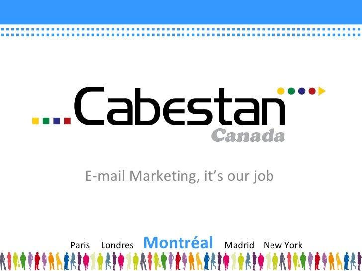 Cabestan Presentation