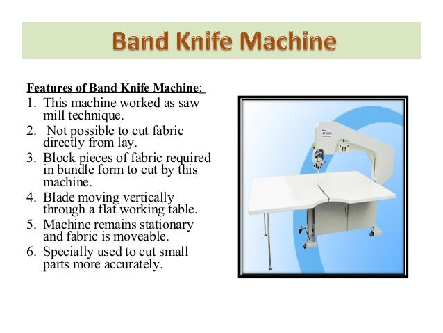 eastman band knife cutting machine