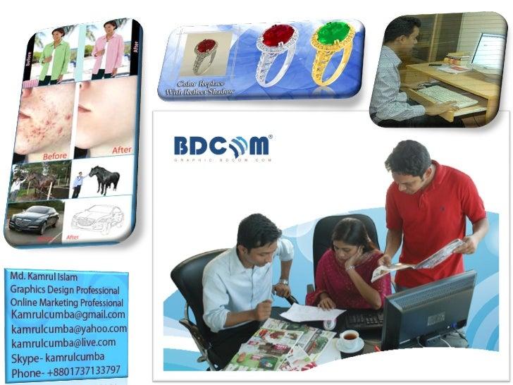 Bdcom Graphics Image Editing Services