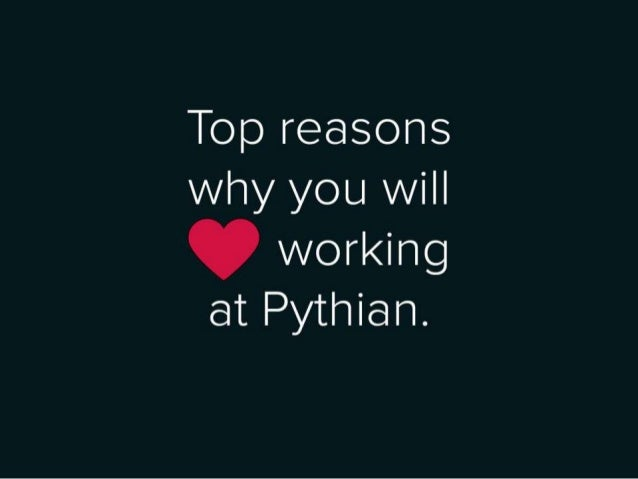 © The Pythian Group 2013