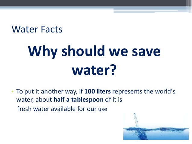 Essay On The Topic Save Water