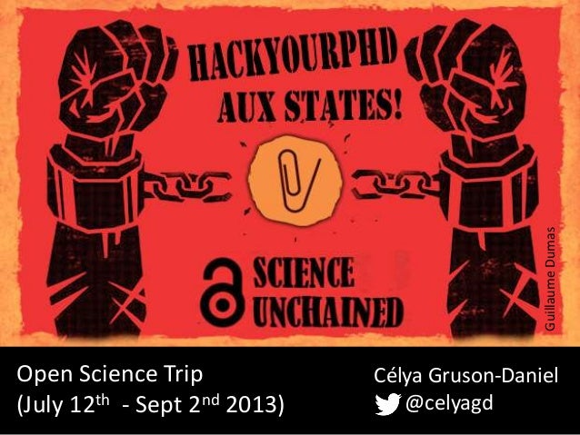 "HackYourPhD aux States ""OpenScience Trip across the USA"""