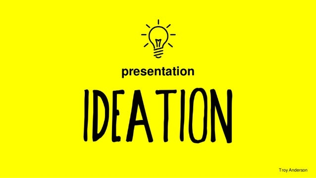 presentation  Troy Anderson