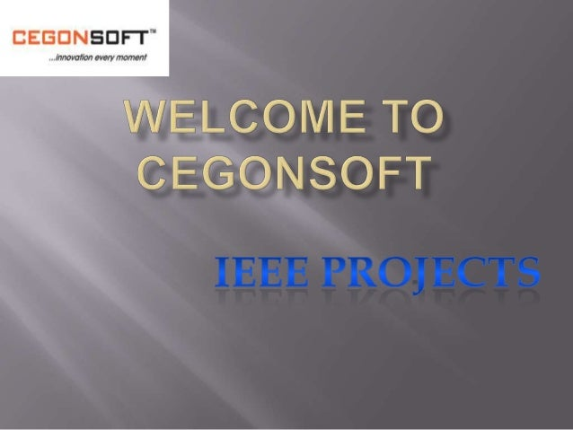 Presentation ieee projects(1)