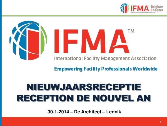 NIEUWJAARSRECEPTIE RECEPTION DE NOUVEL AN 30-1-2014 – De Architect – Lennik 1 1