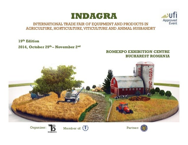 INTERNATIONAL TRADE FAIR OF EQUIPMENT AND PRODUCTS IN AGRICULTURE, HORTICULTURE,VITICULTURE AND ANIMAL HUSBANDRY 19th Edit...