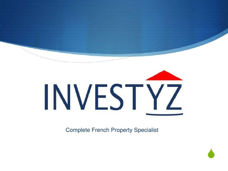 Complete French Property Specialist<br />