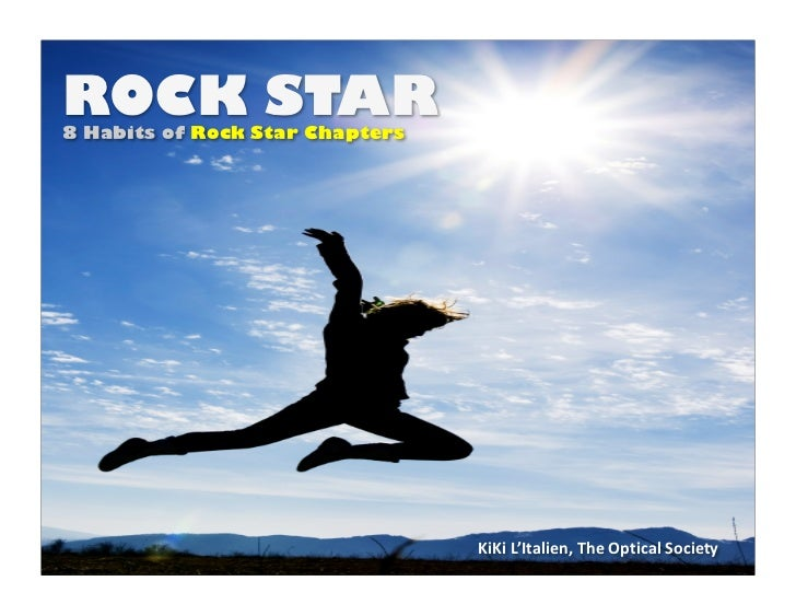 RockStar: The 8 Habits of Rock Star Chapters