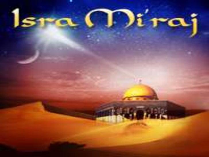 Presentation isra and mi'raj