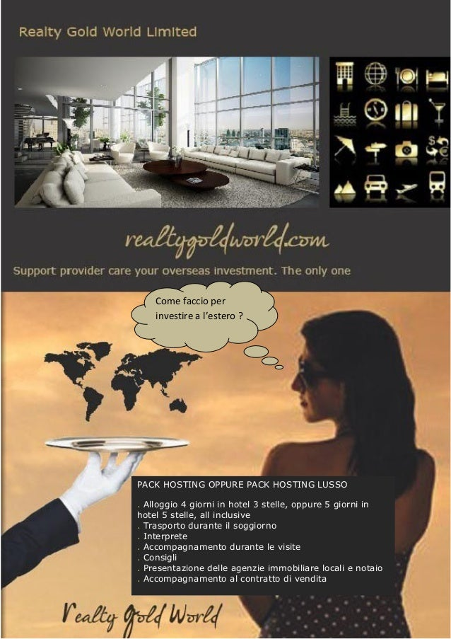 Presentazione RealtyGoldWorld IT