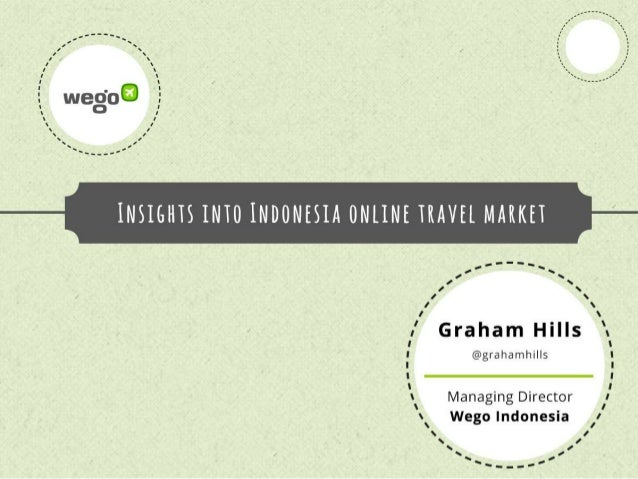 Insights into the online travel market in Indonesia