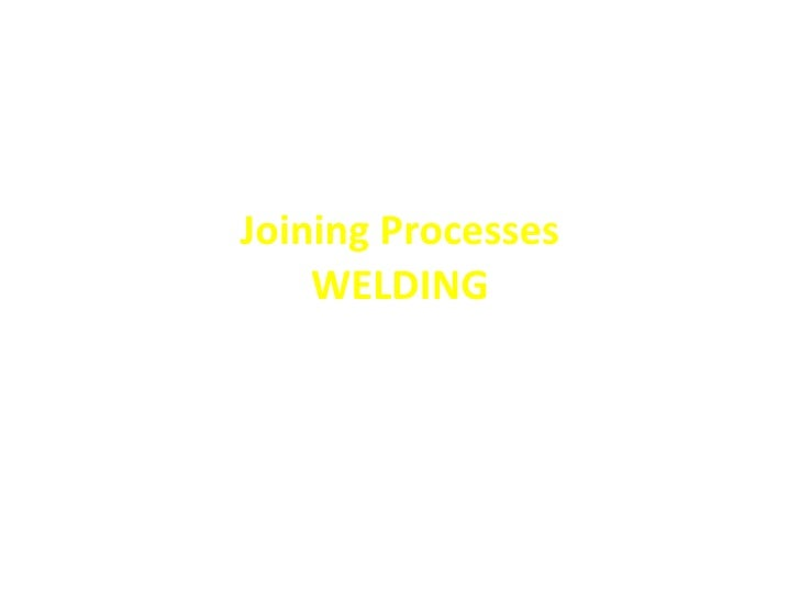 Presentation joining processes