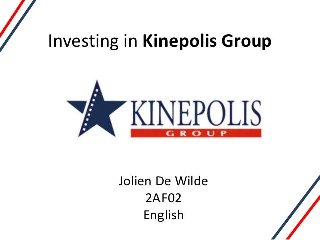 Investing in Kinepolis Group        Jolien De Wilde             2AF02             English