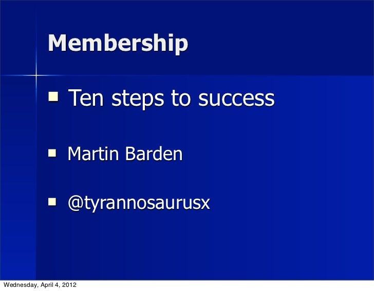 KJO11: Onze Club - Martin Barden, Tate